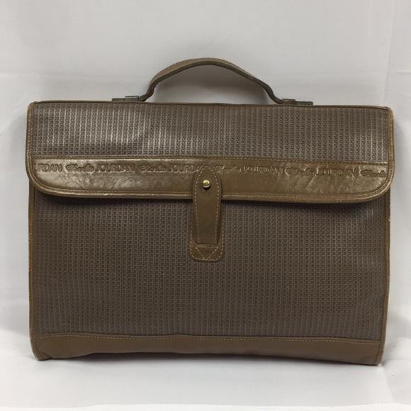 cb77ca69d636 Charles Jourdan vintage briefcase